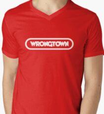 Wrongtown - Capsule Boobilicious Men's V-Neck T-Shirt