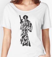 Don't Rescue Me Women's Relaxed Fit T-Shirt