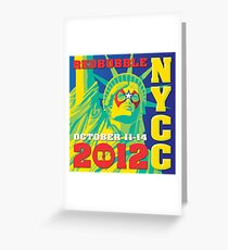 LADY LIBERTY Greeting Card