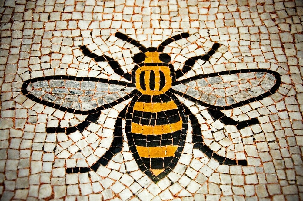 Manchester Bee by Darren Taylor