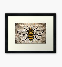 Manchester Bee Framed Print