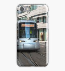 Tram in Düsseldorf, Germany. iPhone Case/Skin