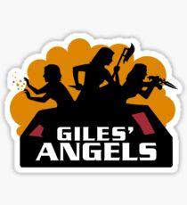Gile's Angels Sticker