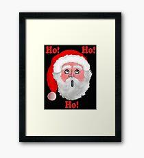 Ho!-Ho!-Ho! Framed Print