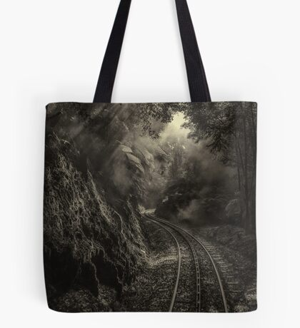 Steam and rainforest Tote Bag