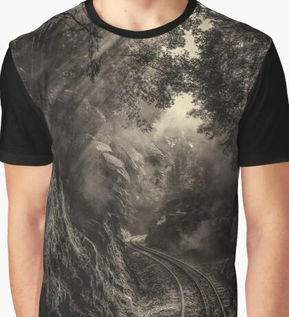 Steam and rainforest Graphic T-Shirt