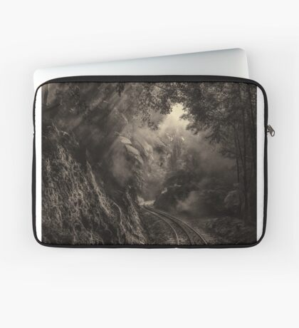 Steam and rainforest Laptop Sleeve