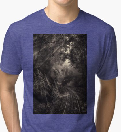 Steam and rainforest Tri-blend T-Shirt