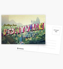 Greetings from Ponyville Postcards