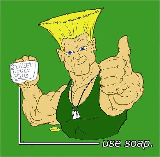 American hero says Use soap by BreteKosan