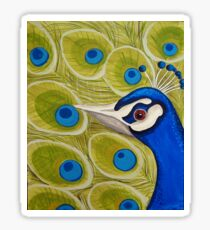 Peacock Love Sticker