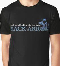 Black Arrow Malcolm Merlyn Graphic T-Shirt