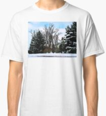 Trees in Snow Classic T-Shirt