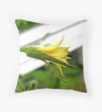 Tomato Flower Throw Pillow