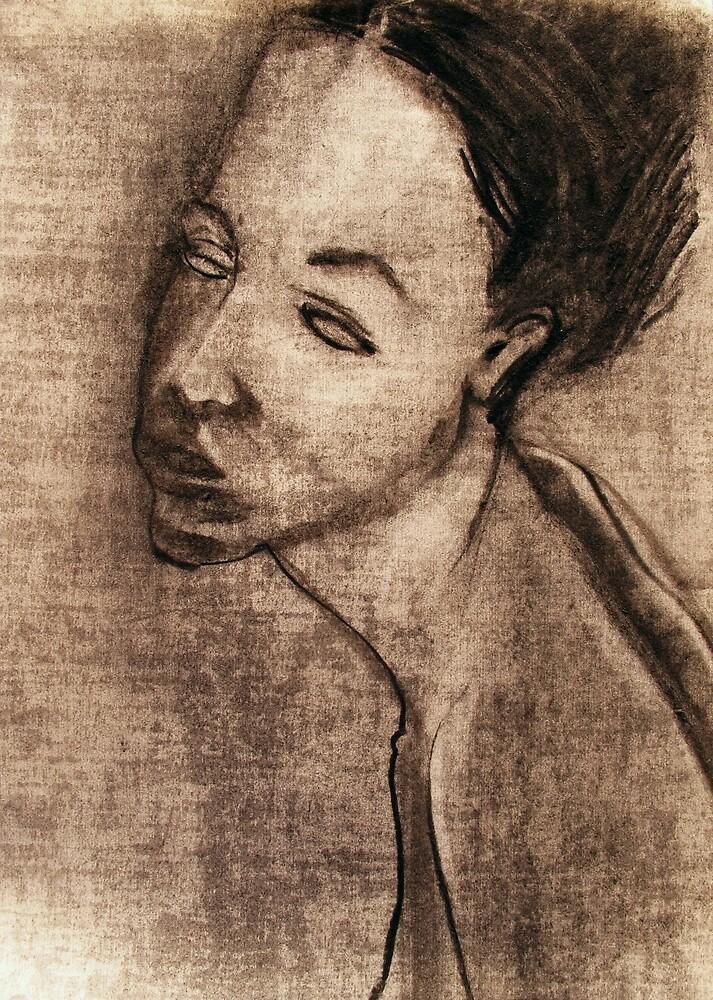 Bertie, portrait by donna malone
