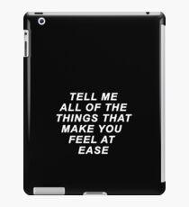 EASE - TROYE SIVAN iPad-Hülle & Skin