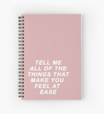EASE - TROYE SIVAN Spiral Notebook