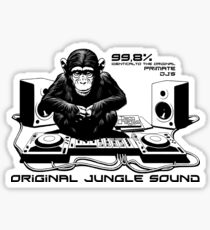 Jungle sound Sticker