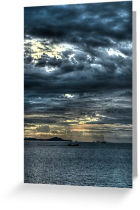 cloudy sunset by michelle meenawong