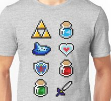 Zelda Items V.2 Unisex T-Shirt