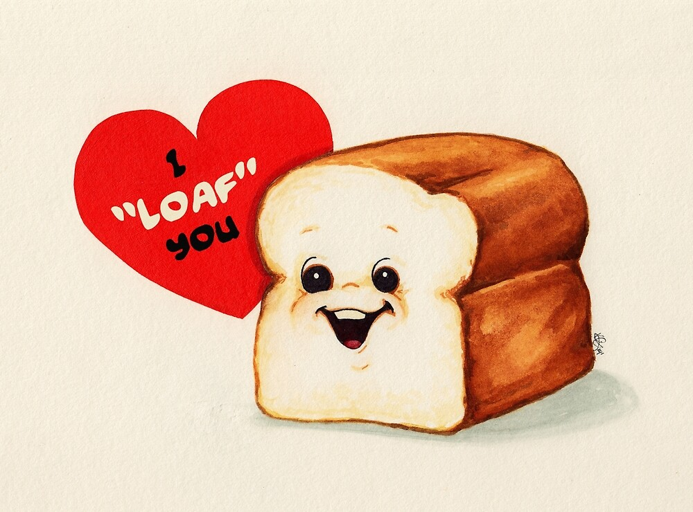 Bread Valentine by Kelly  Gilleran