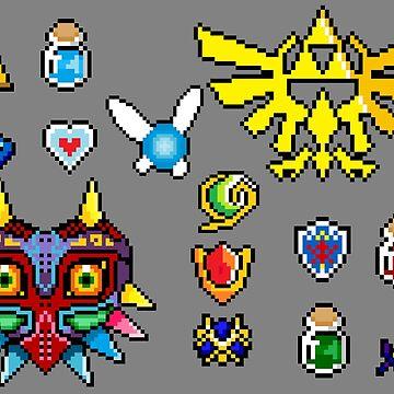 Zelda Overload  by von-bats