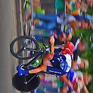 Bradley Wiggins - London 2012 Olympic Gold (2) by Nick  Gill