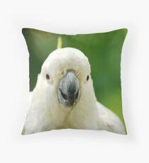 Mr Talkative Throw Pillow