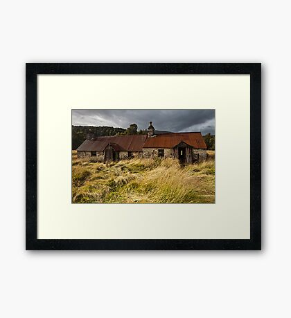 Old Ruined House Framed Print