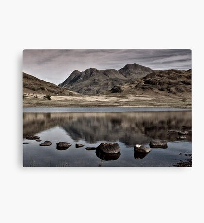 Early Morning at Blea Tarn Canvas Print