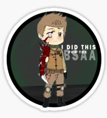 for the bsaa Sticker
