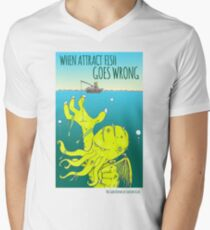 Attract Fish (3) Men's V-Neck T-Shirt