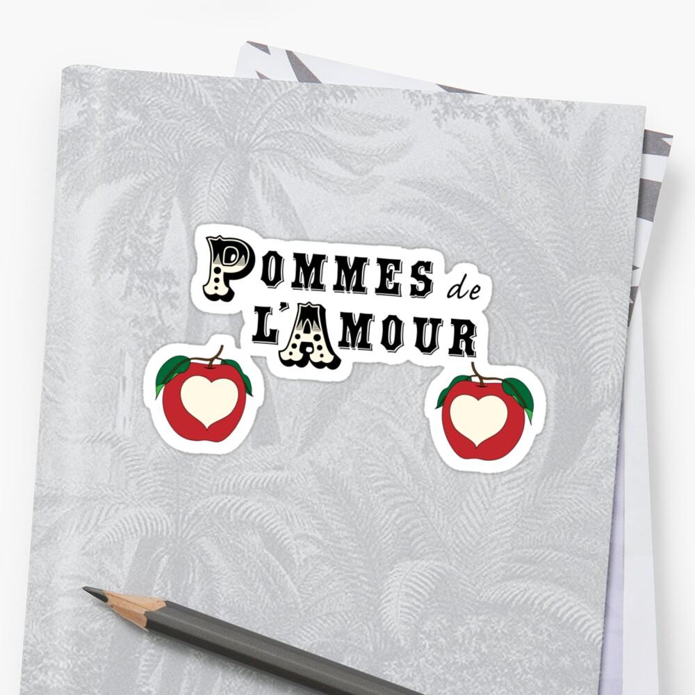 Pommes de l'Amour by suranyami