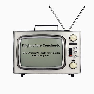 Flight of the Conchords - Television design by harryfowler