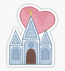Temple Love Sticker