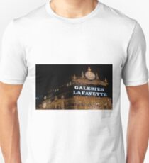 Galeries Lafayette in Paris Unisex T-Shirt