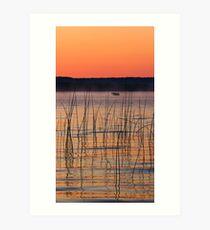 Platte Lake Dawn Art Print