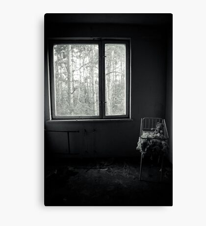 By the Window Canvas Print