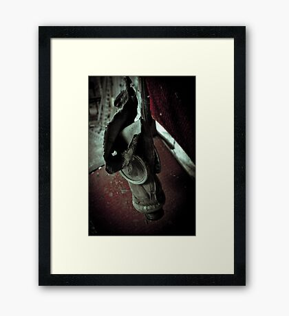 Capitulation Framed Print