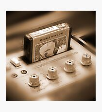 8-Track Tape Player Photographic Print