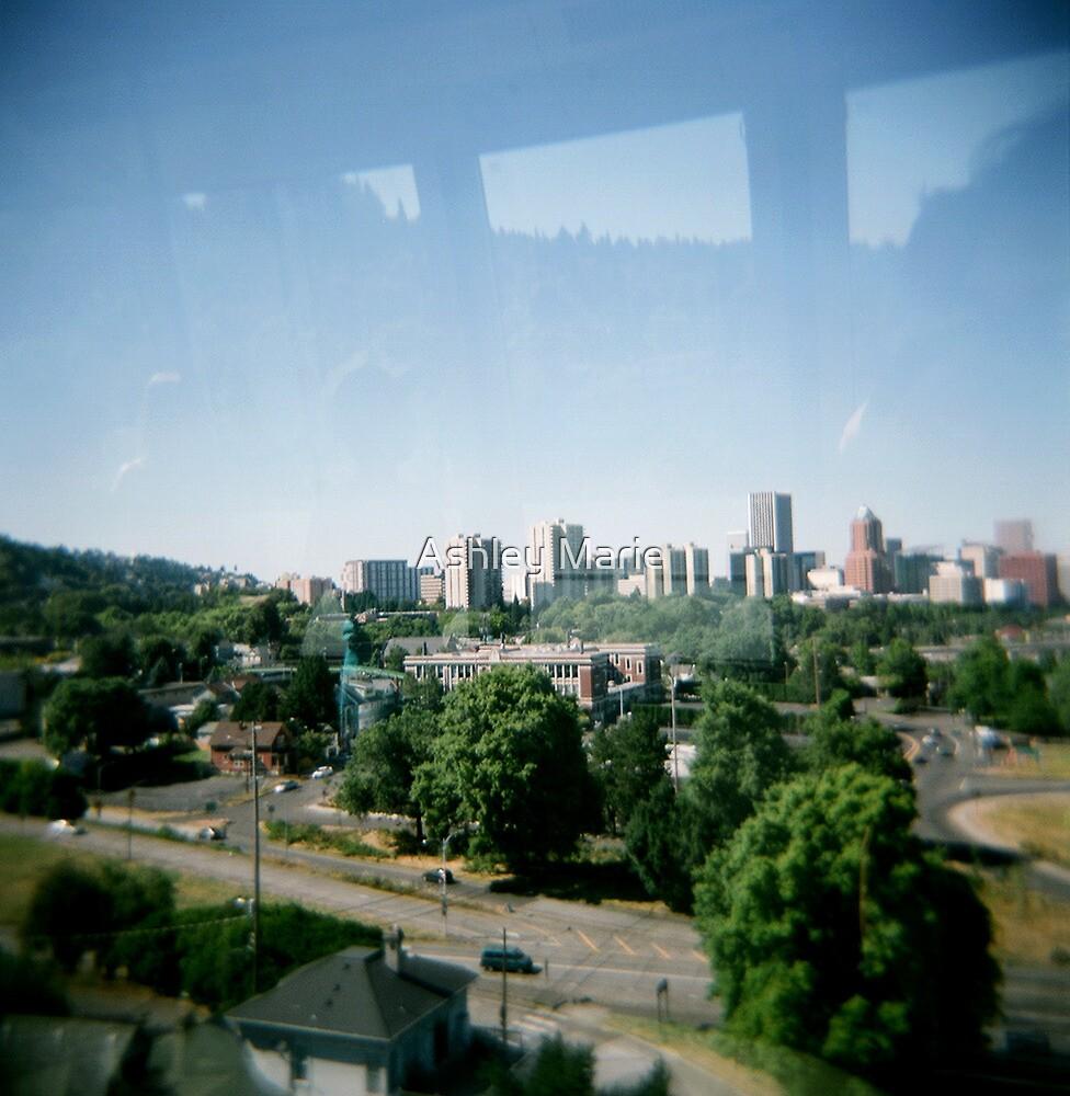 Portland Tram by Ashley Marie