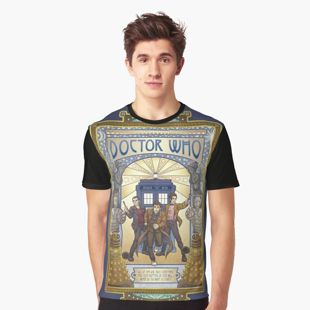 All of Time and Space Graphic T-Shirt Front