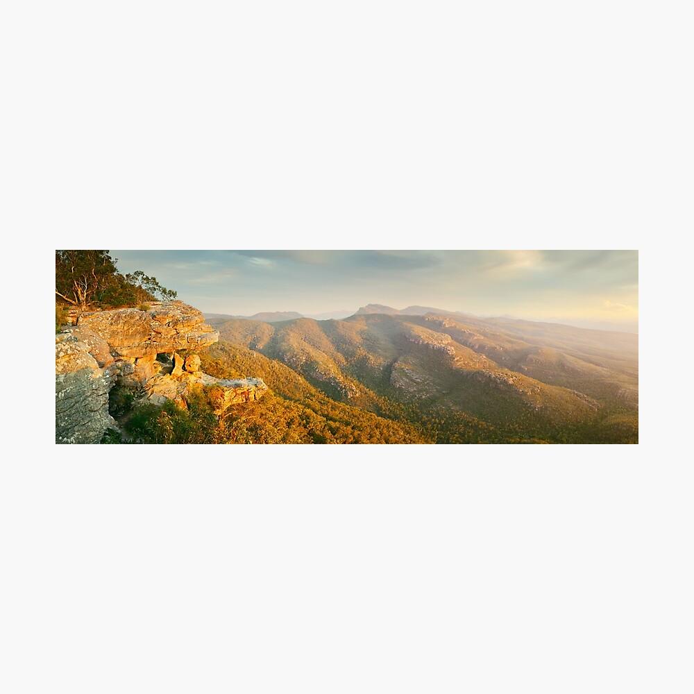 Balconies Sunset, Grampians National Park, Victoria, Australia Photographic Print