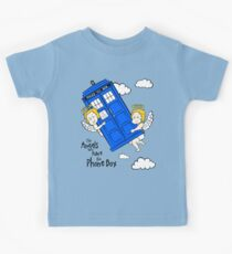 The Angels have the Phone Box - Version 2 (for light tees) Kids Tee