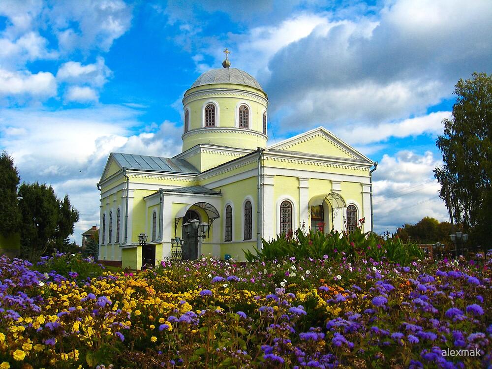 Small Christian monastery by alexmak