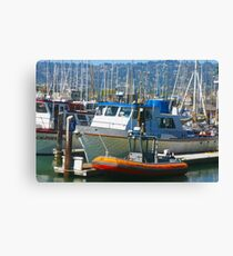 """Berkeley Marina"" Canvas Print"
