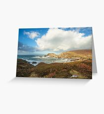 Port, Glencolmcille Greeting Card