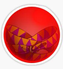 Blood Bubble Sticker