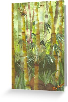 Bamboo in Nuuanu by Lily Nakao