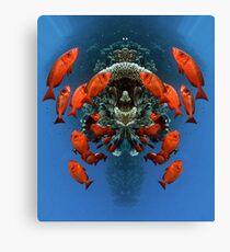 Digital Art - Underwater Canvas Print